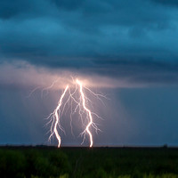 lightning in the Everglades