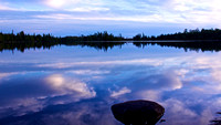 Cloud Reflections, Parent Lake, BWCA
