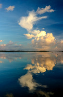 Cloud Reflection at Dawn